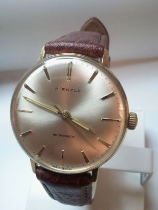 Vintage Kienzle Herrenarmbanduhr.  - Handaufzug - Bild