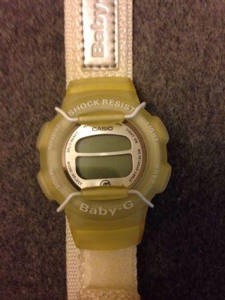 Casio Baby - G Weiß.  Einfach Kultig Bild