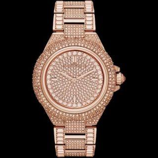 Michael Kors Uhr Glitz Rosegold Damen - Uhr Mk5862 Uvp 549€ Bild