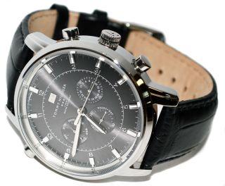 Tommy Hilfiger Watch Uhr Herrenuhr Uhren Chronograph Mit Box Black - - - - Bild
