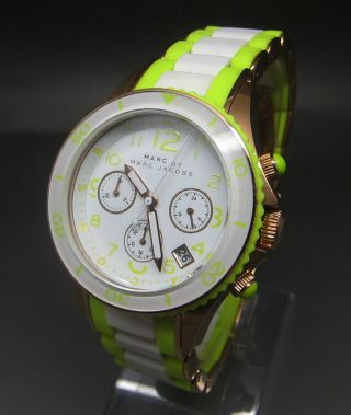 Marc By Marc Jacobs Damenuhr Chronograph Uhr Bild