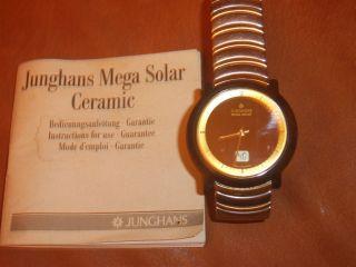Junghans Mega Solar Ceramic Bild
