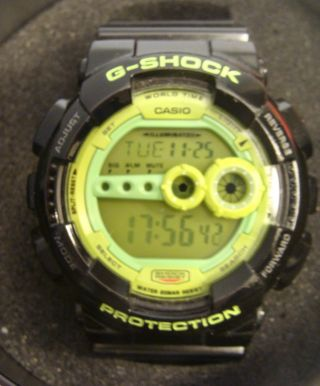 Casio G - Shock Gd - 100sc Mit Box Bild