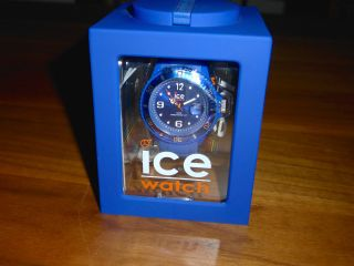 Ice Watch Damen - Und Herrenuhr - Ice Forever - Blau - Si.  Be.  U.  S.  09 - - Ovp Bild