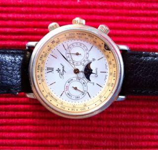 Bildschöne Herren Armbanduhr Royal Quartz Bild