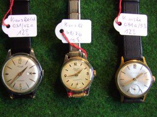 Kienzle Armbanduhren Konvolut Sammlungsauflösung Bild