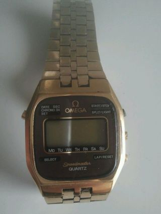 Omega Armbanduhr Uhr Quartz Speedmaster Bild