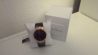 Mens Skagen Watch 695xlrld Brown Bild