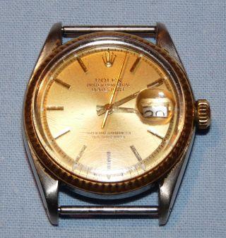 Rolex Datejust Stahl Gold Bild