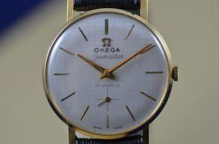 Omega Seamaster 18 K Gelbgold Ca.  1960 Bild