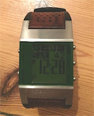Diesel Digital Armbanduhr Dz 7025 - Voll Funktionsfähig Bild