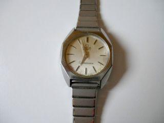 Seltene Omega Constellation Uhr Armbanduhr 70 - Er J.  Od.  älter Edelstahl Vintage Bild