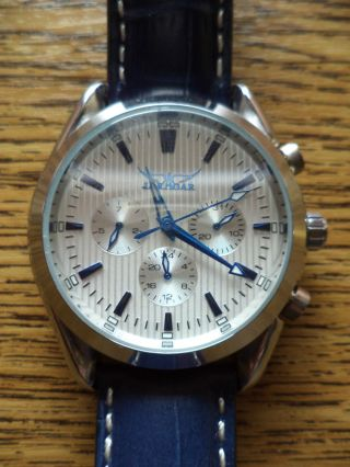 Sportlich - Maskuline Armbanduhr Jaragar,  Automatik, Bild