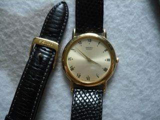 Seiko,  Herren Armbanduhr,  Gold Bild