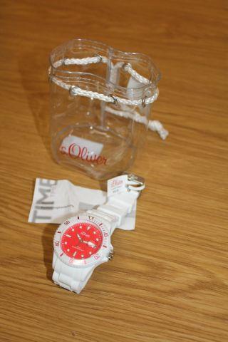 S.  Oliver - Uhr - Herrenuhr - Damenuhr - Datum - Armbanduhr So - 2715 - Pq Uvp 49,  95€ Bild