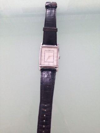 Emporio Armani Herren Quarz Armbanduhr Mit Lederarmband Bild