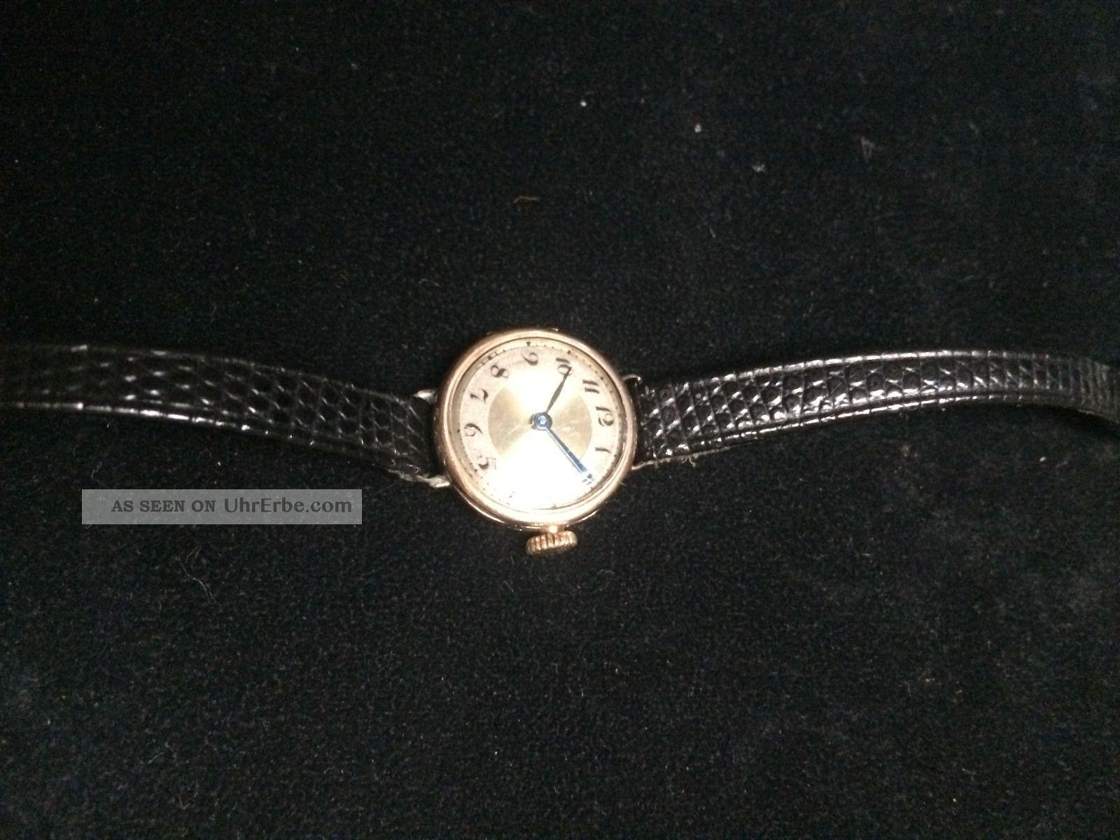 Rolex Damenuhr Gold Alt 0,  375 Armbanduhren Bild