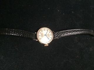 Rolex Damenuhr Gold Alt 0,  375 Bild
