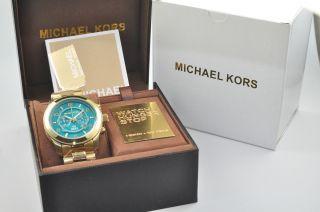 Michael Kors Mk8315 Damenuhr Armbanduhr Watch Hunger Stop Edelstahl, Bild