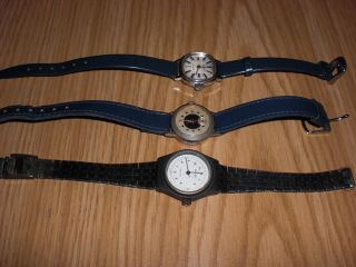 3 Damen Uhren,  Goler,  Buler Und Isoma Aus Nachlass Abzugeben Bild