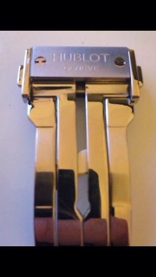 Hublot Big Bang Stahl Faltschließe In Silber 22mm Bild