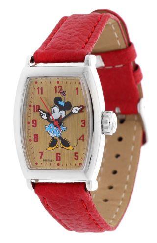 Ingersoll Disney Damen Armbanduhr Handaufzug Minnie Mouse Rot Zr25646 - 1 Bild