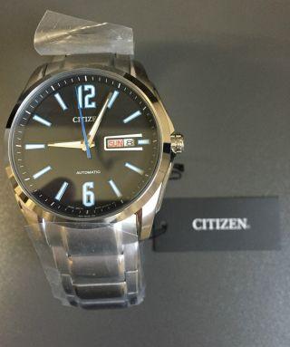 Citizen Mecha Herren - Armbanduhr Automatik Edelstahl (modell: Nh7490 - 55ee) - Bild