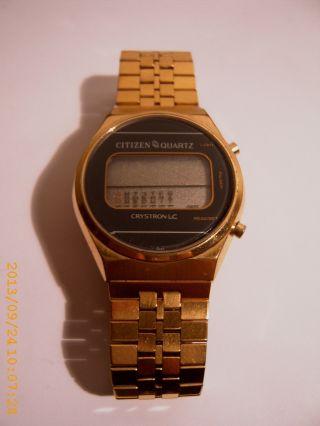 Citizen - Armbanduhr Quartz 80er Jahre Ohne Funktion Bild