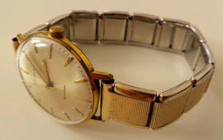 Uhr Kienzle Herrenuhr Antik Golden Flexiband Gewölbtes Glas Sehr Schön Bild