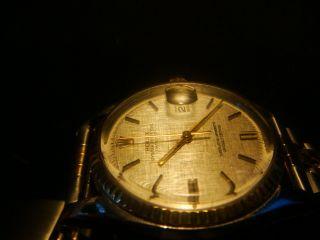 Rolex Oyster Perpetual Datejust Ref.  1601 Cal.  1570 18 Karat Gold & Stahl Top Bild