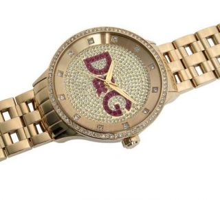 Dolce & Gabbana Uhr Prime Time Dw0377 Gold Damen Uhr Gold Unisex Luxus Bild