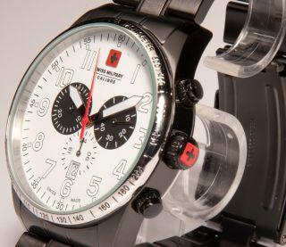 Swiss Military Hanowa Chronograph Chrono Uhr Red Star Sm12962xsn.  04m Sm1 Bild