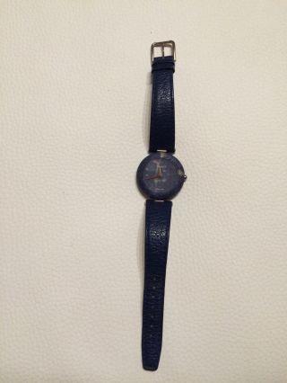 Tissot Rockwatch Swiss Quartz R150 Damen Armbanduhr Dunkelblau Bild