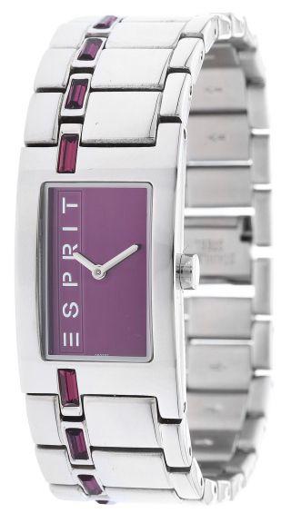 Esprit Damen Armbanduhr Starline Purple Houston Silber Es900022009 Bild
