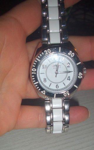 S.  Oliver ✿ Damen Uhr Silber Mit Lackelementen ✿ So - 2246 - Mq Bild