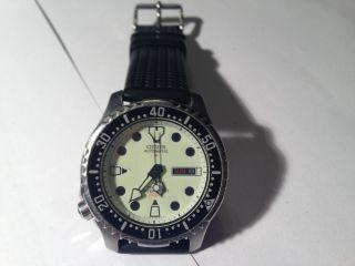 Citizen Promaster Automatik Taucher Herren Armband Uhr Bild