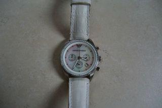 Emporio Armani Damenuhr Chronograph Bild