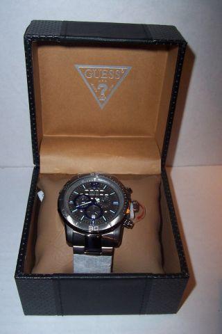 Guess W22521g1 Armbanduhr Herren Uhr Chronograph Ovp Bild
