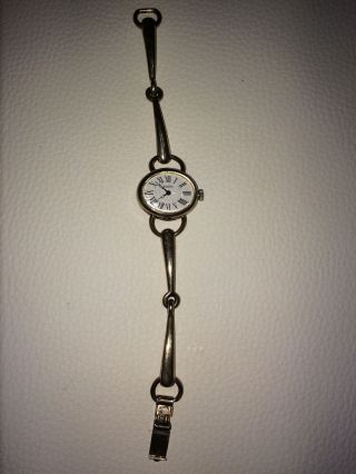 Adora Damen Armbanduhr Rarität Vintage Aus 835 Silber Bild