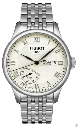Tissot Le Locle Automatic Power Reserve Gent Herrenuhr Neu&ovp. Bild