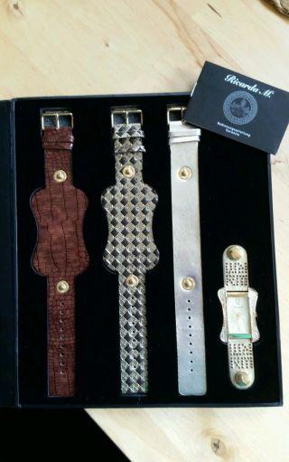 Wunderschöne Ricarda M Uhr Mit Wechselbänder Bild