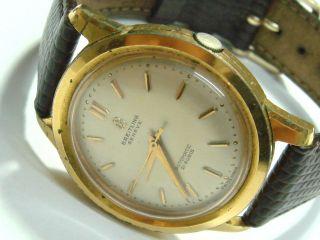 Breitling Dresswatch Auster Perpetual 2509 25 Felsa Bidynator Armbanduhr 1955 Bild
