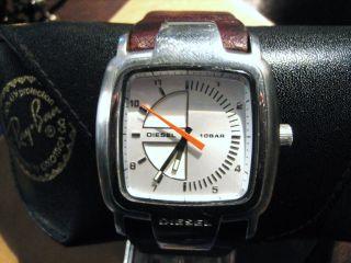 Diesel Herren - Armbanduhr Analog Quarz Leder Dz 4033 Armband Braun Bild