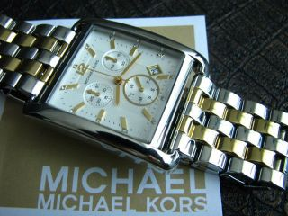 Michael Kors Uhr Damenuhr Chronograph Mk3176 Bild