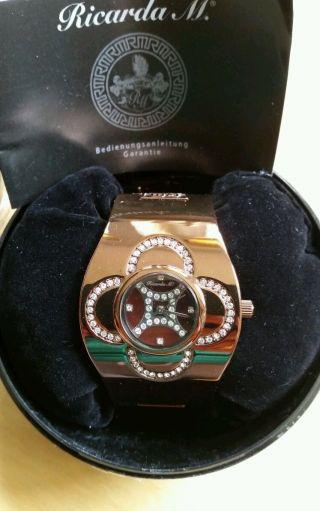 Schicke Ricarda M Uhr In Schokobraun Ein Absoluter Hingucker Bild