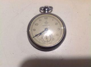 Thiel Regular Uhr Taschenuhr Alt Ruhla 40er Jahre Jahre Wk2 Wh Läuft Frackuhr A Bild