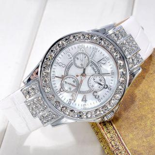 Armbanduhr Pu Leder Quarzuhr Analog Quarz Uhr Damen Herren Uhr Watch Geschenk Bild