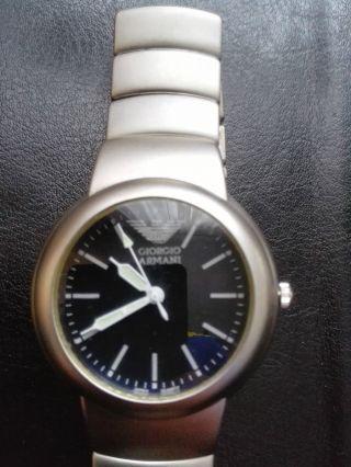 Giorgio Armani Armbanduhr Für Herren Herrenuhr Bild