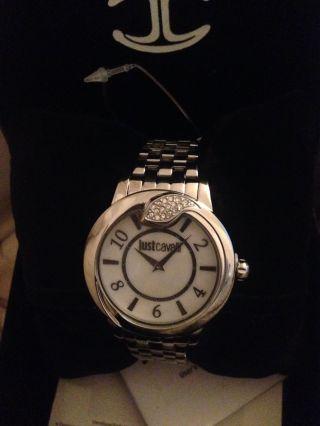 Just Cavalli Uhr Spire Damen - Armbanduhr Silber Bild