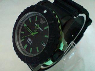Armani Uhr,  Ovp Ar6102 Acqua Sportivo 20atm 45mm OlivgrÜn Uvp 299€ Bild